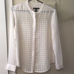 Easy Light White Stylish Blouse